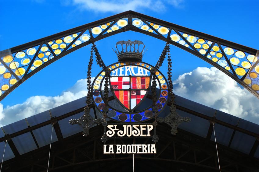 La Boquería (Mercat St. Josep) Markt in Barcelona