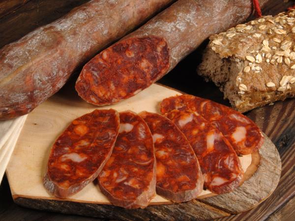 Chorizo Spanische Paprikawurst mit Pimentón