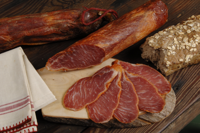 Lomo Ibérico de Bellota - Lende des iberischen Schweins