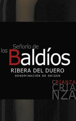 Weinetikett eines Crianza aus D.O. Ribera del Duero