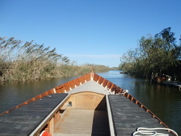 Bootstour mit Paella durch den Nationalpark Albufera (Valencia)