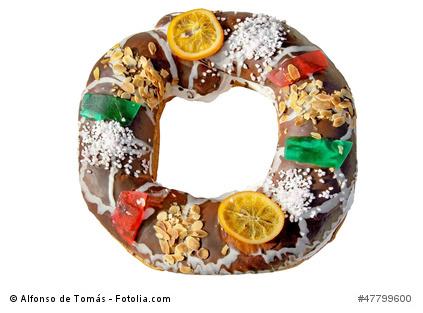 Roscón de Reyes - Der Königskranz aus Hefeteig