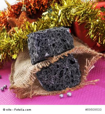 Kohle (carbón) - das Geschenk für weniger brave Kinder