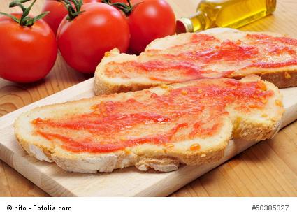 Pan con tomate - Spanische Sonne aufs Brot