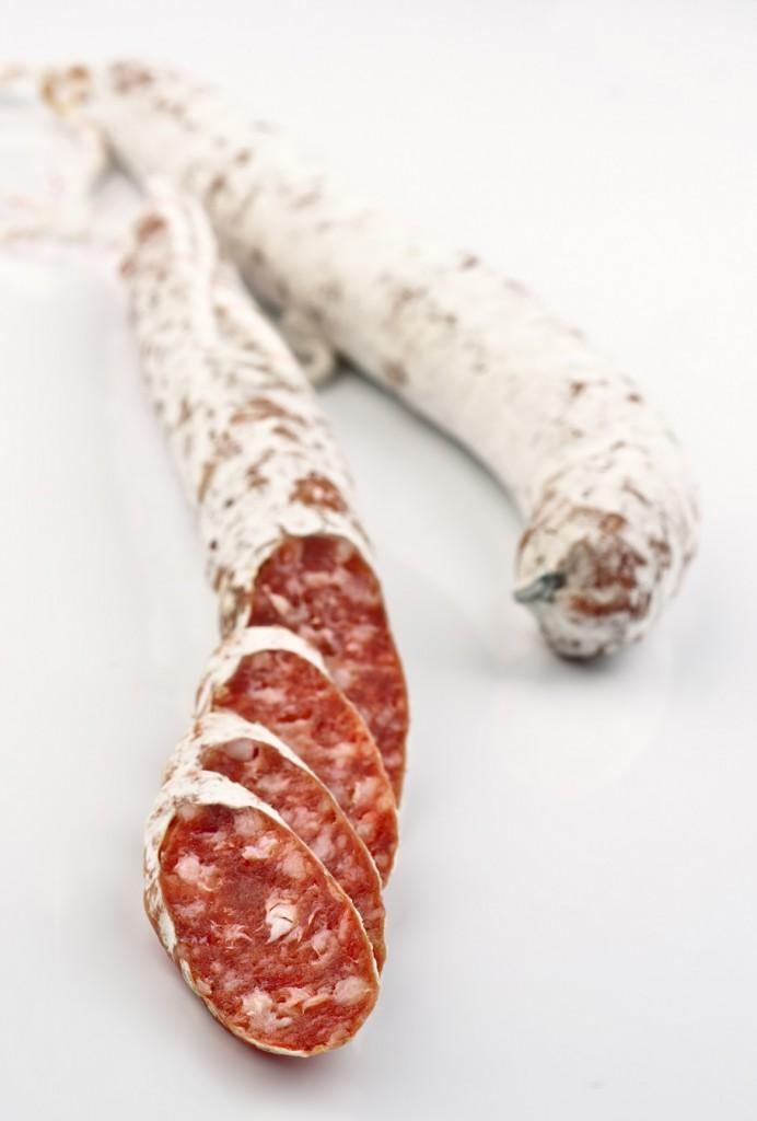 Fuet - katalonische Hartwurst mit Edelschimmel